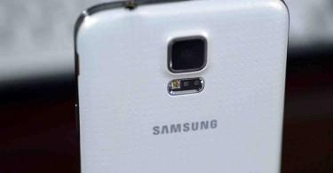 Galaxy S5 Rear view